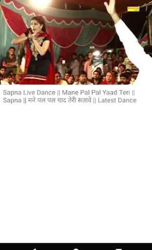 Sapna Chaudhary song - Sapna ke gane, sapna dance 4