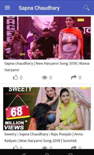 Sapna Choudhary Video Dance Songs Latest 2019 2
