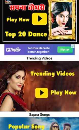 Sapna Dance New Haryanvi 2019 - Top Sapna Videos 2