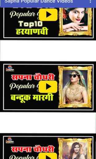 Sapna Dance New Haryanvi 2019 - Top Sapna Videos 3