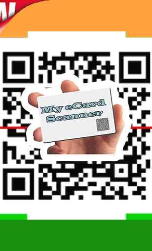 Enhanced QR Code for e card ✔️ 2