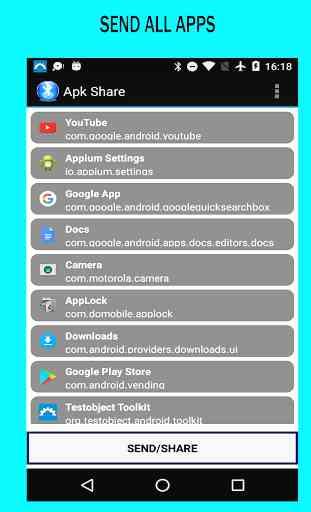 Apk Share / Bluetooth App Sender 2
