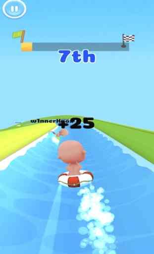 Aqua Park - Water Slide Park Fun Race 2