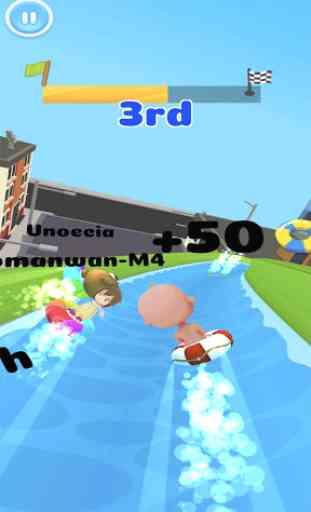 Aqua Park - Water Slide Park Fun Race 3
