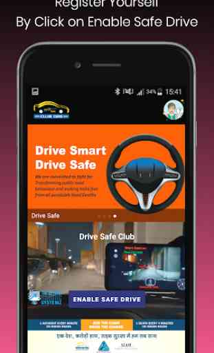 Drive Safe Club - Smart Dash Cam 2