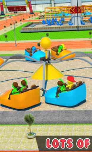 bambini Parco acquatico: acqua diapositiva tema pa 2