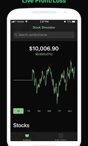 StockMarketSim - Stock Market Simulator 1