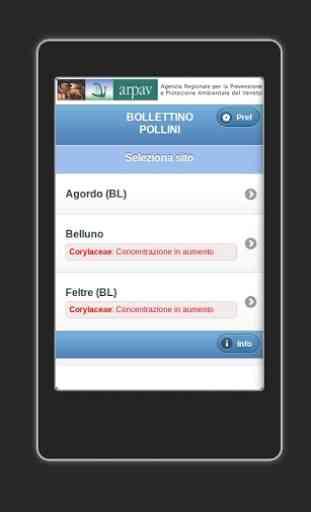 App ARPAV Pollini 2