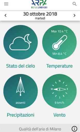 Meteo e qualità dell'aria ARPA 4