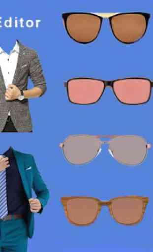 Man Photo Editor: Man Suit, Hair Style, Moustache 1