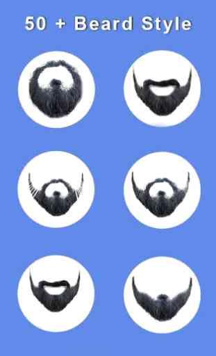 Man Photo Editor: Man Suit, Hair Style, Moustache 3