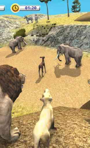 The Lion Simulator - Animal Family Simulator Game 1