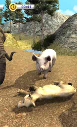 The Lion Simulator - Animal Family Simulator Game 2