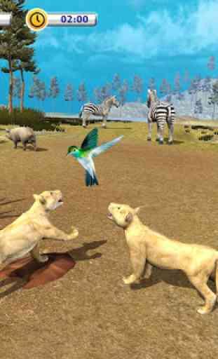 The Lion Simulator - Animal Family Simulator Game 4