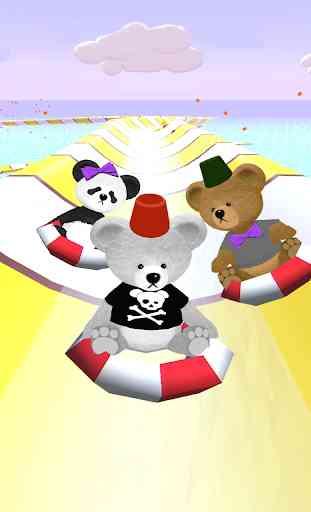 Bear Slides - Aqua Teddy park 1