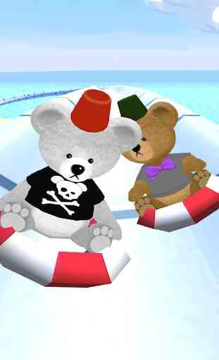 Bear Slides - Aqua Teddy park 2