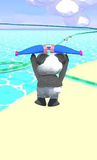 Bear Slides - Aqua Teddy park 3