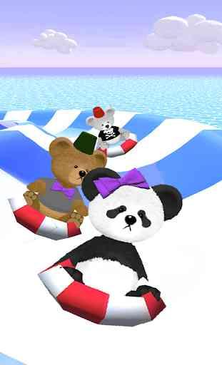 Bear Slides - Aqua Teddy park 4