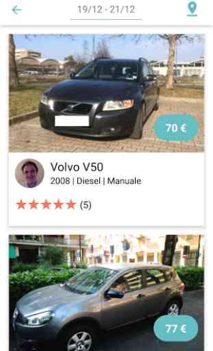 Auting - car sharing tra privati 2