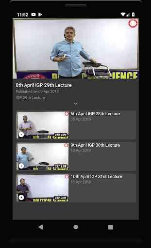 Saraswati IAS Video (Live and on-demand) Classes 4