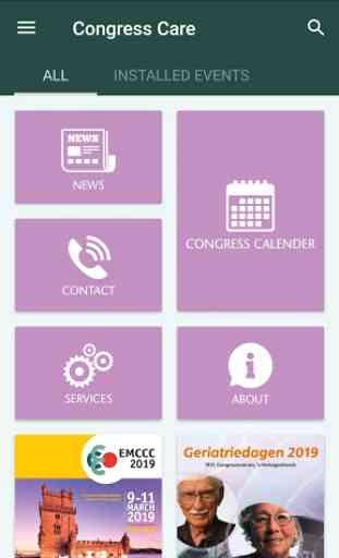 Congress Care - Meeting App 2