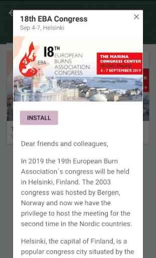 Congress Care - Meeting App 3