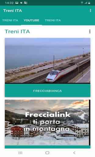 Treni ITA - Orari e Info Treni Trenitalia 2
