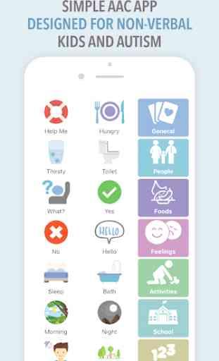 Leeloo AAC - Autism Speech App for Non-Verbals 2