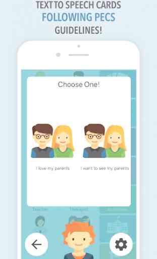 Leeloo AAC - Autism Speech App for Non-Verbals 4