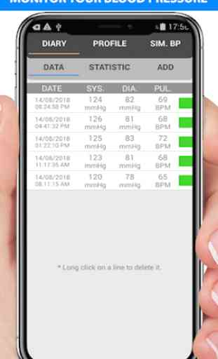 Blood Pressure Checker Diary - BP Info -BP Tracker 3