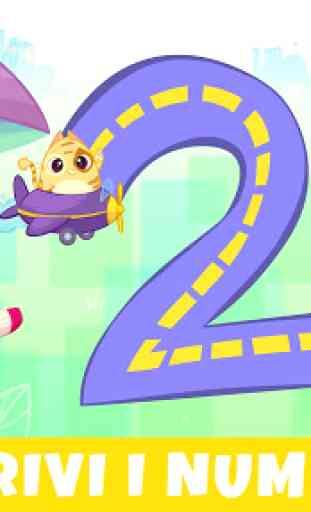 Bibi Numeri 123 - Giochi educativi per bambini 2+ 1