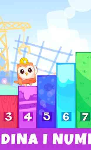 Bibi Numeri 123 - Giochi educativi per bambini 2+ 3