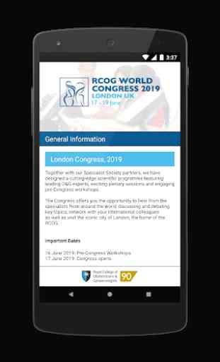 RCOG World Congress 2019 2