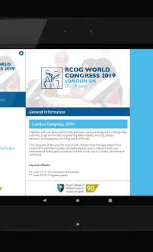 RCOG World Congress 2019 4