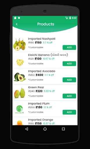 Aahar Sabji Fal - Online Fresh Veggies & Fruits 2