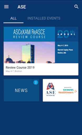 ASE Courses 2