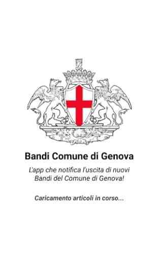 Bandi Comune di Genova 1