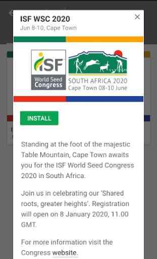 ISF World Seed Congress 3