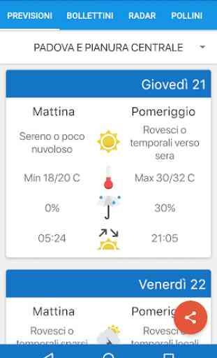 Meteo Arpa Veneto 1