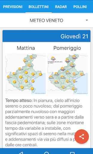 Meteo Arpa Veneto 2