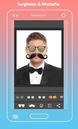 Mustache Photo Editor 1