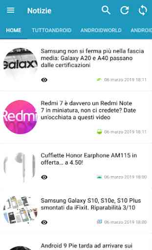 Notizie su Android 1