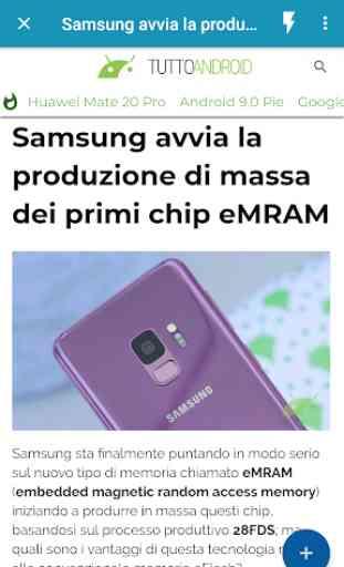 Notizie su Android 2