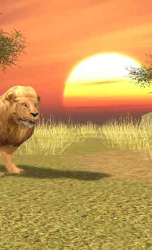 Wild Lion Simulator 3D 1