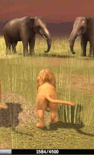 Wild Lion Simulator 3D 2