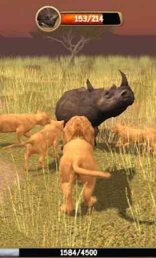 Wild Lion Simulator 3D 3